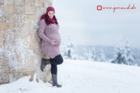 Babybauchfotos Oberhof Geraberg Gehlberg Winter