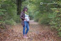 Babybauchfotos Zella-Mehlis Wald