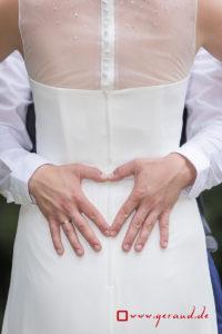Hochzeitsfotos Brautkleid