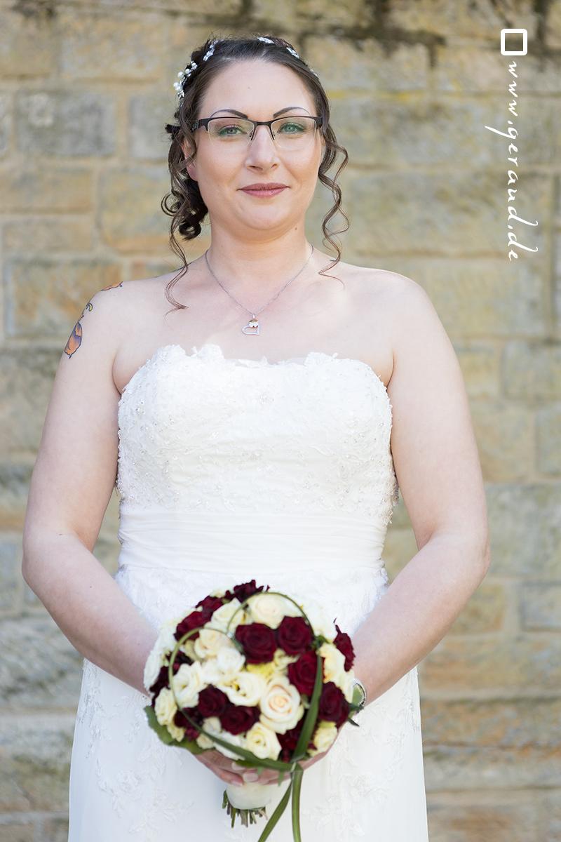Hochzeitsfotos Mellrichstadt Brautstrauß