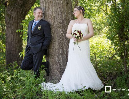 Hochzeitsfotos in der Rhön – Brautpaarshooting
