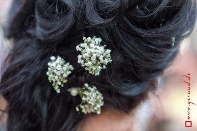 Hochzeitsfotos Zella-Mehlis Haarschmuck