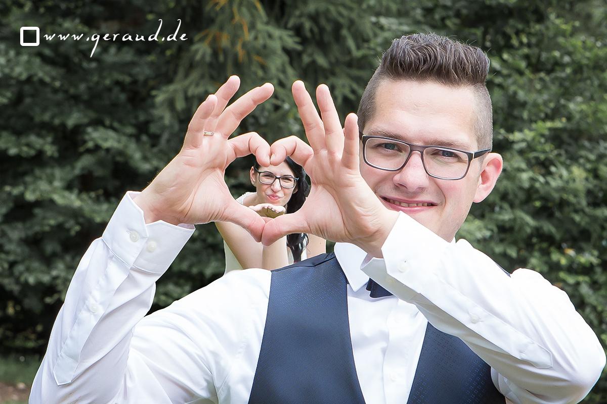 Hochzeitsfotos Zella-Mehlis Herz